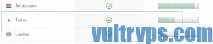 Vultr日本东京节点库存