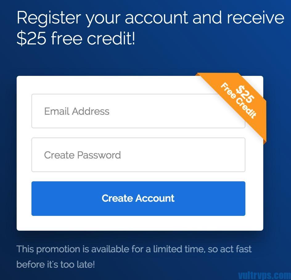 Vultr 优惠 新用户送25美元